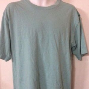 Lot of 5 JL Men's T-Shirt Soft Teal Solid T-Shirt